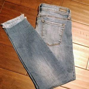 STS Blue Jeans - STS Raw hem Emma Ankle Skinny jeans 2276